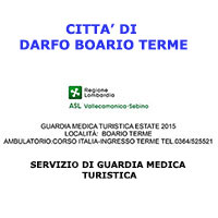 GUARDIA MEDICA TURISTICA ESTATE 2015